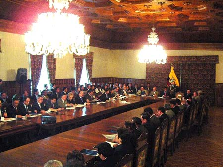 Lista de ministros y ministerios de ecuador ecuador for Ministerios del ecuador