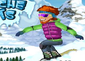 Karda Kayak Oyunu