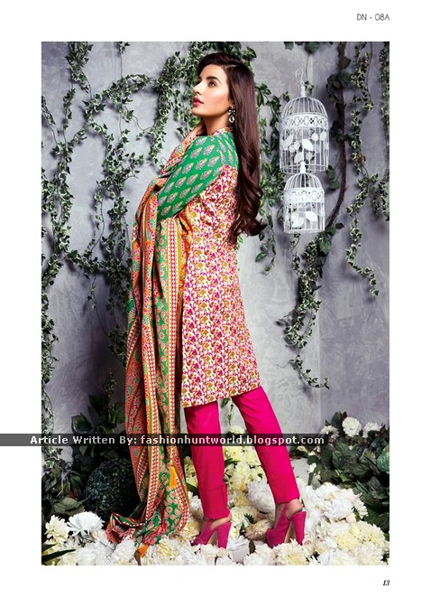 Bonanza Satrangi Pret Lawn Collection 2015