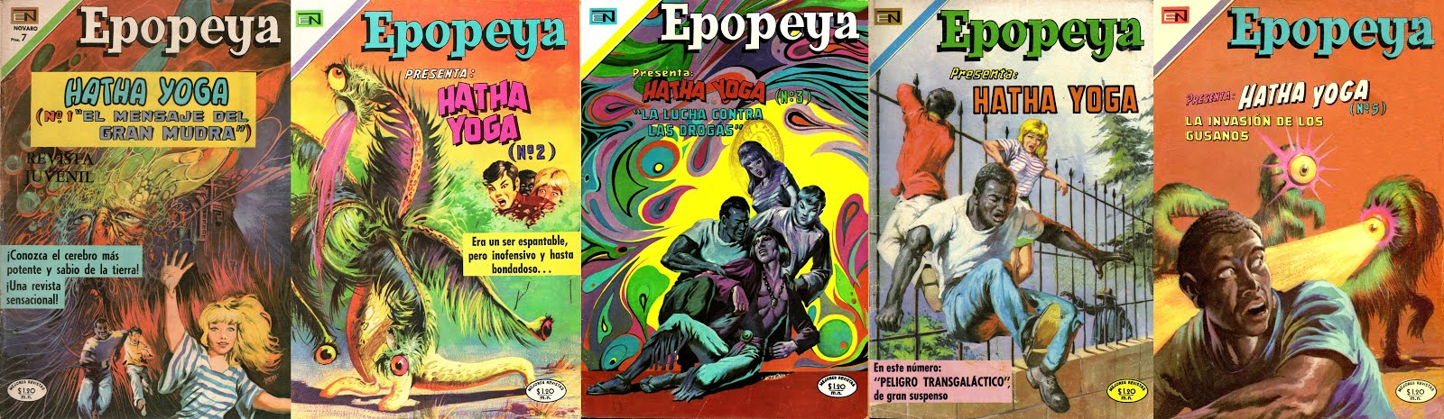 La serie Hatha-Yoga en Epopeya Novaro