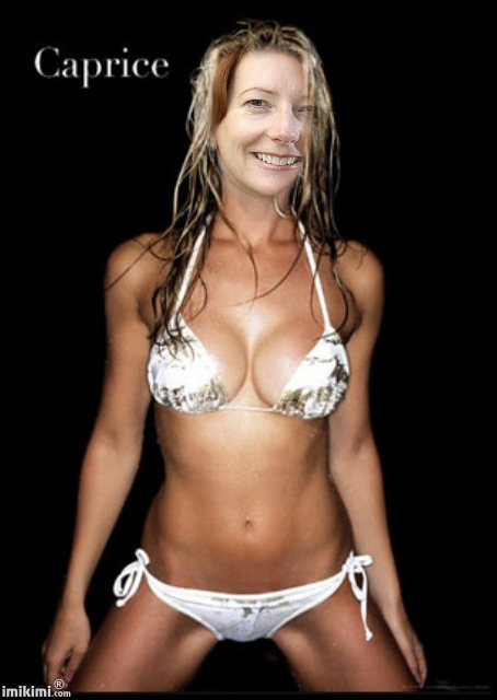 Hunter tylo en bikini