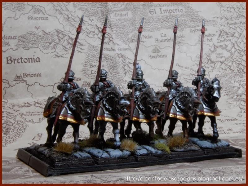 El Canto de las Espadas Miniatures. Caballeros-imperiales-espada-rota-volans-empire-knigths-brokens-sword-2