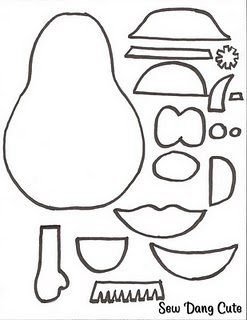 It's just a graphic of Luscious Mr Potato Head Printable Parts