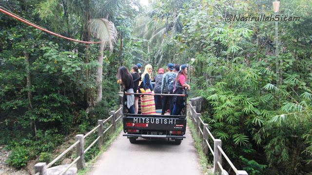 Menuju curug Siklothok, Kaligono, Purworejo