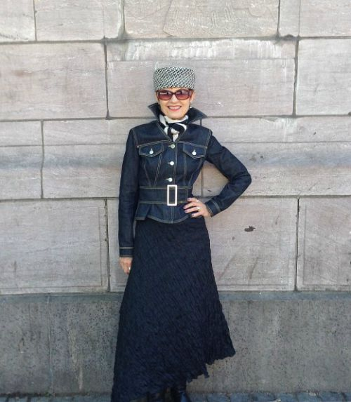 How to Wear a Pillbox Hat - Judith of Style Crone