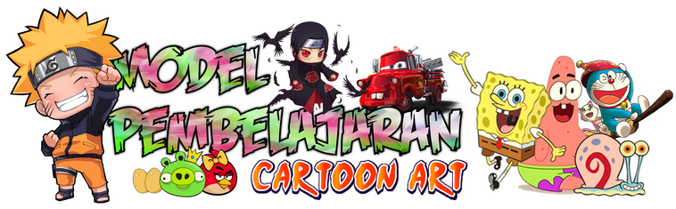 Model Pembelajaran Cartoon Art