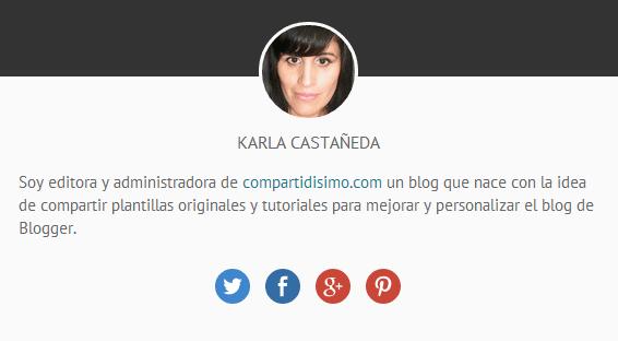 Cuadro de perfil de Karla