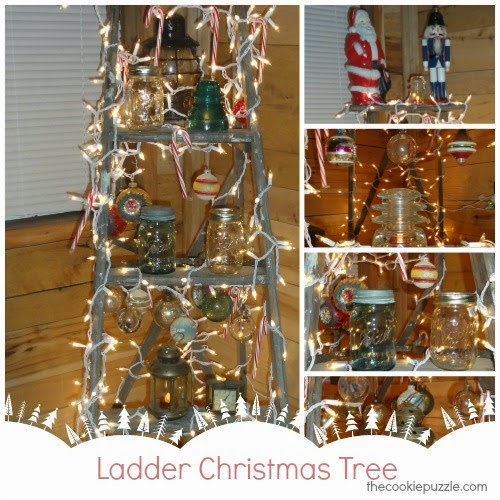 Ladder Christmas Tree - The Cookie Puzzle