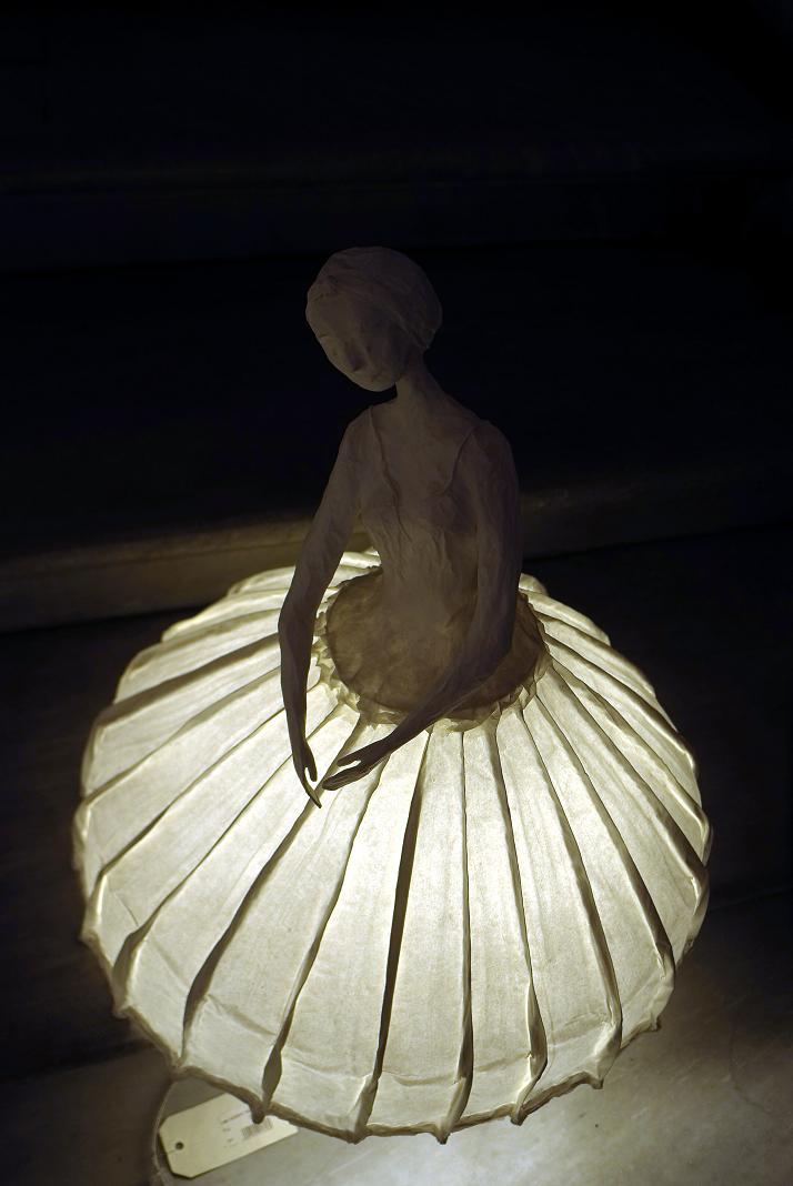 Ballerina Lamp From Palais Garnier