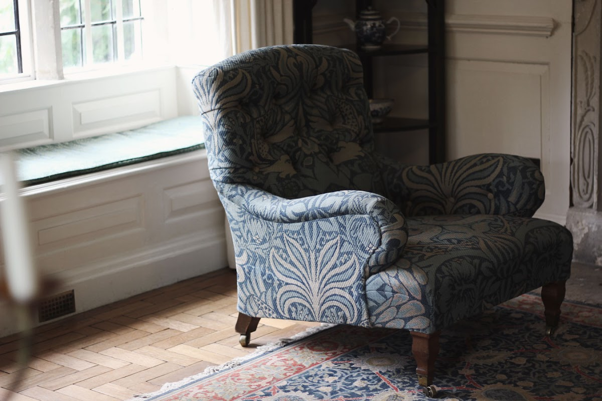 william morris print furniture