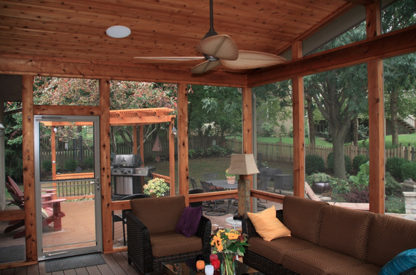 The Benefits of Screened in Porches and How to Know If They're Right For You!