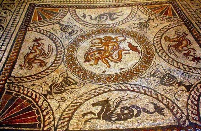 roman wall paintings and mosaics