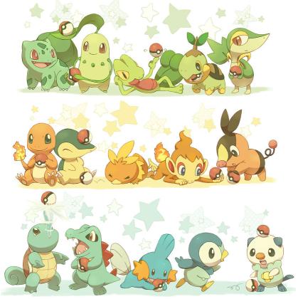 Pok mon xl iniciais pokemons - Pagina da colorare bulbasaur ...