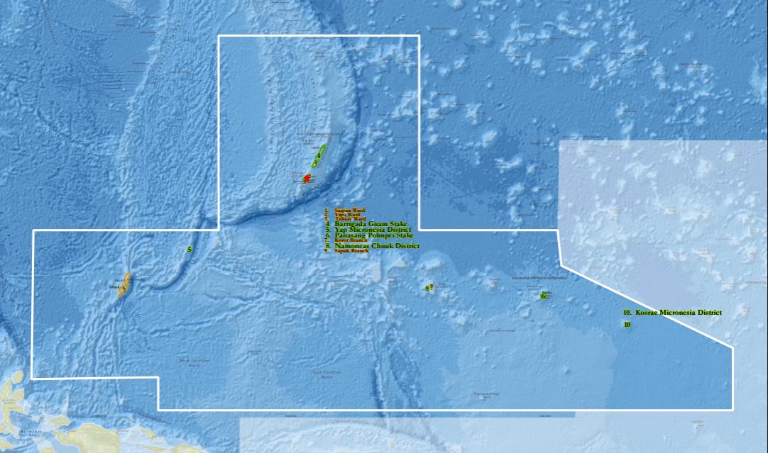 Micronesia Guam Mission