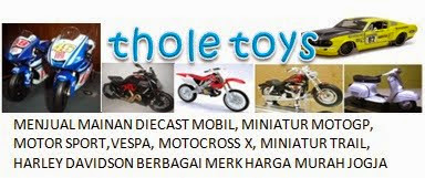 THOLETOYS - Jual Mainan Diecast Miniatur Mobil dan Motor