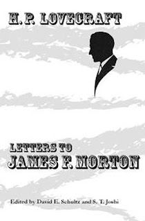 H.P. Lovecraft: Letters to James F. Morton, 2011, copertina