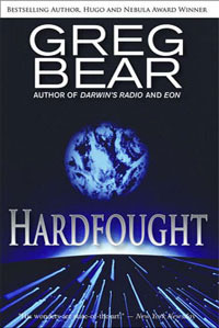 Portada de Hardfought, de Greg Bear