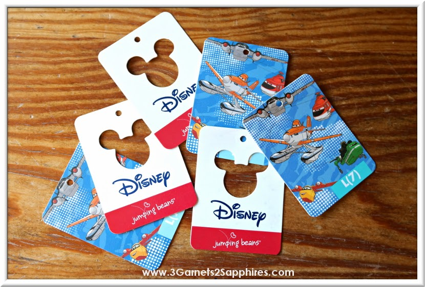 Kohl's Disney Jumping Beans #FireAndRescue Collection Bookmark Craft | www.3Garnets2Sapphires.com #MagicAtPlay