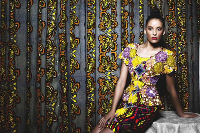 kitenge dress and modele de pagne africain sur ciaafrique by iconic invanity