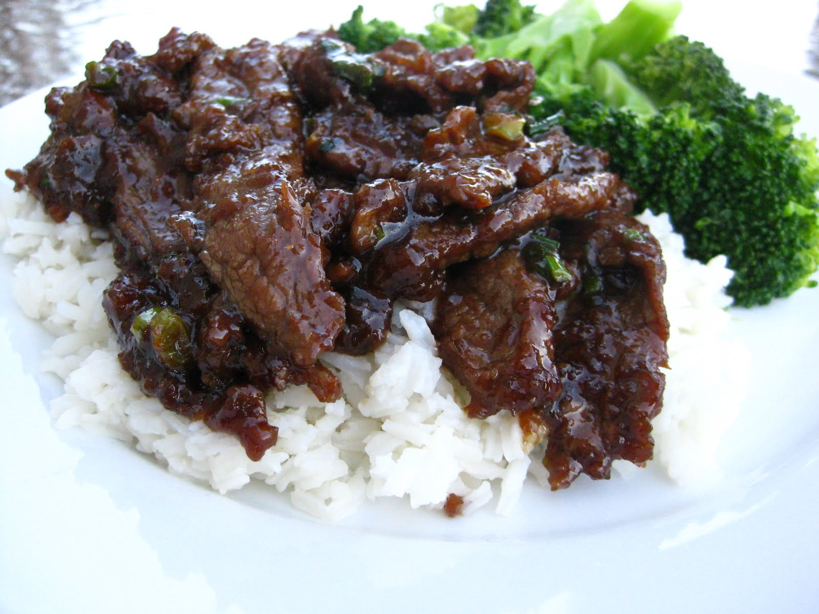 Taste of Home Cooking: Recipe Swap - Mongolian Beef