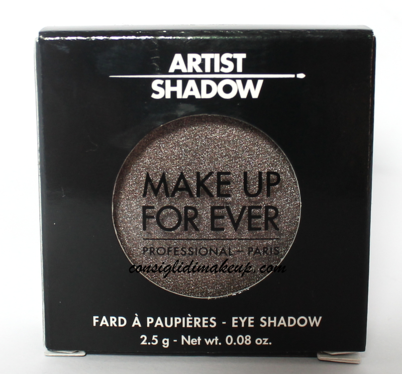 artist shadow makeup forever gunmetal