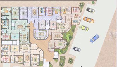 مخطط عمارة سكنية تصميم شقق عماره جديدة مخطط حديث لشقق تصاميم غرف