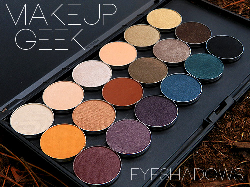 Makeup geek palette
