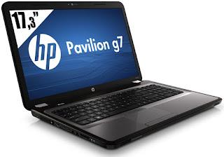 HP Pavilion g7-1101xx Drivers