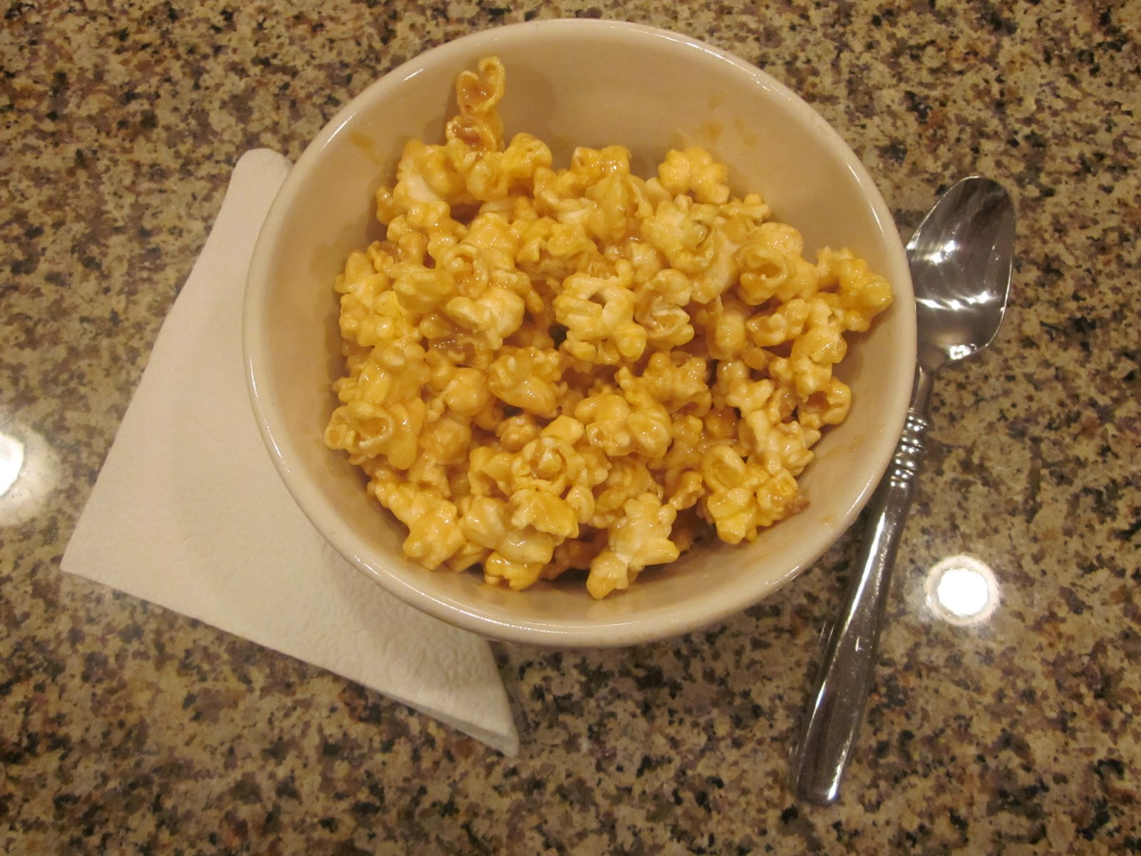Home Made Is Easy: Caramel Popcorn