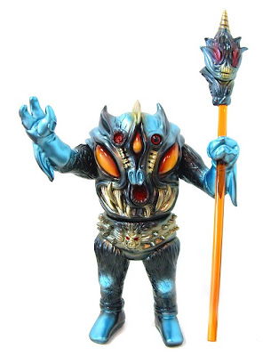 Toy Art Gallery Exclusive Black Edition Pollen Kaiser Vinyl Figure by Paul Kaiju