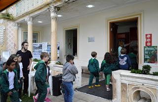 Crianças de diversas escolas prestigiaram as atividades da Semana de Museus em Teresópolis