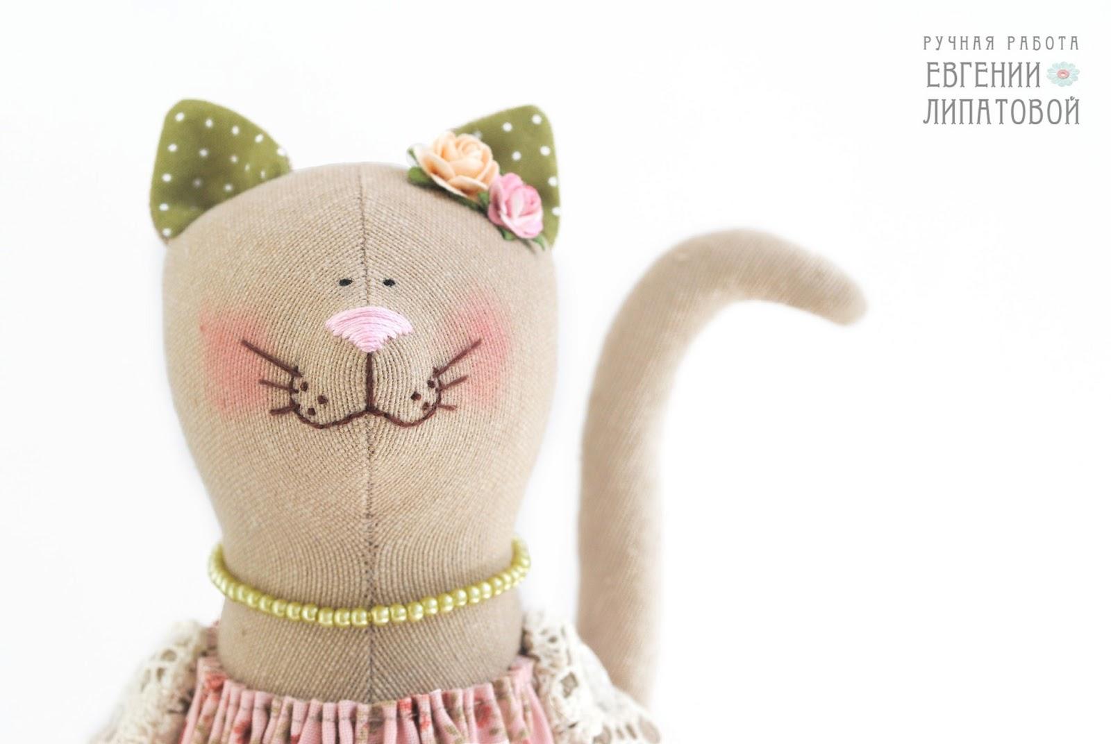 Толстый кот тильда своими руками выкройки 36