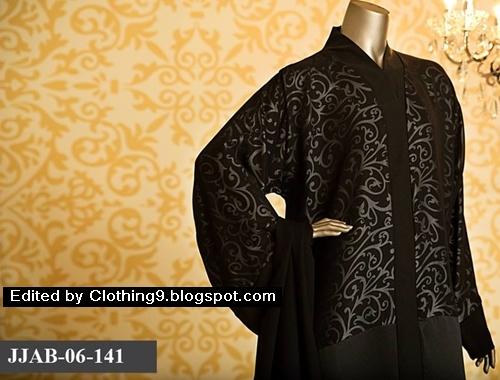 Junaid Jamshed abaya design