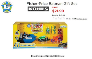 Imaginext Batboat DC comics exclusive Kohl's Black Friday sale cheap Batman Fisher-Price アメコミ イマジネックスト