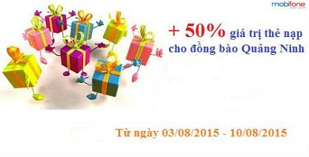 Mobifone khuyến mãi cho đồng bào Quảng Ninh