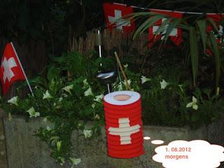 Terrasse, 2012, 1. August