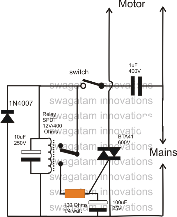 adding a soft start to water pump motors