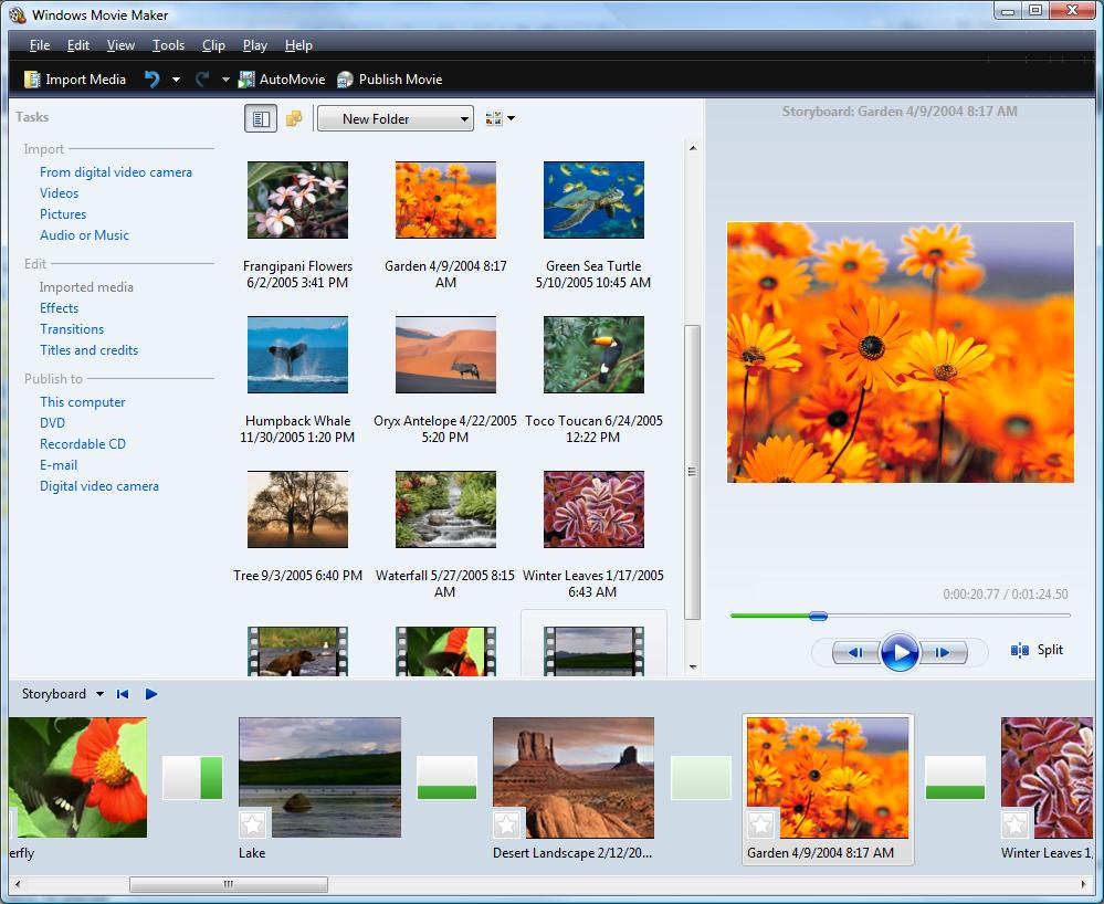 Windows Movie Maker Video Editing Software Free Download
