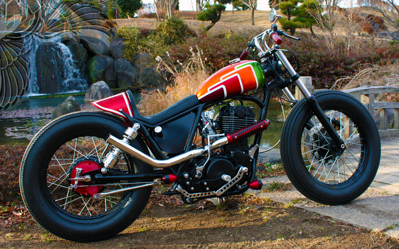 Sr400 Brat Style By Luxe