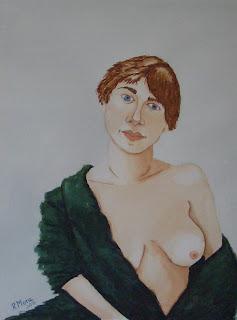 watercolor,acuarela,aquarel·la,rmora,nu,nude,desnudo
