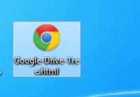 Google drive tree resultado en html
