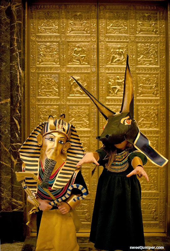 halloween 2013 anubis and king tut