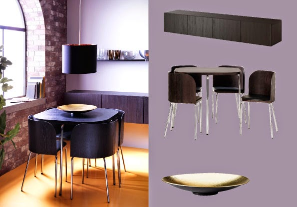 En verden til forskel: retro spisebord med stole   sÆlges