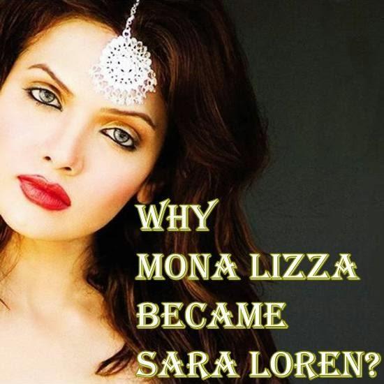 Mona Lizza Sara Loren