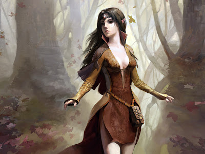 Elvin-fantasy-Forrest-witch-fantasy-wallpaper