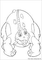 Land Before Time Coloring Pages Online