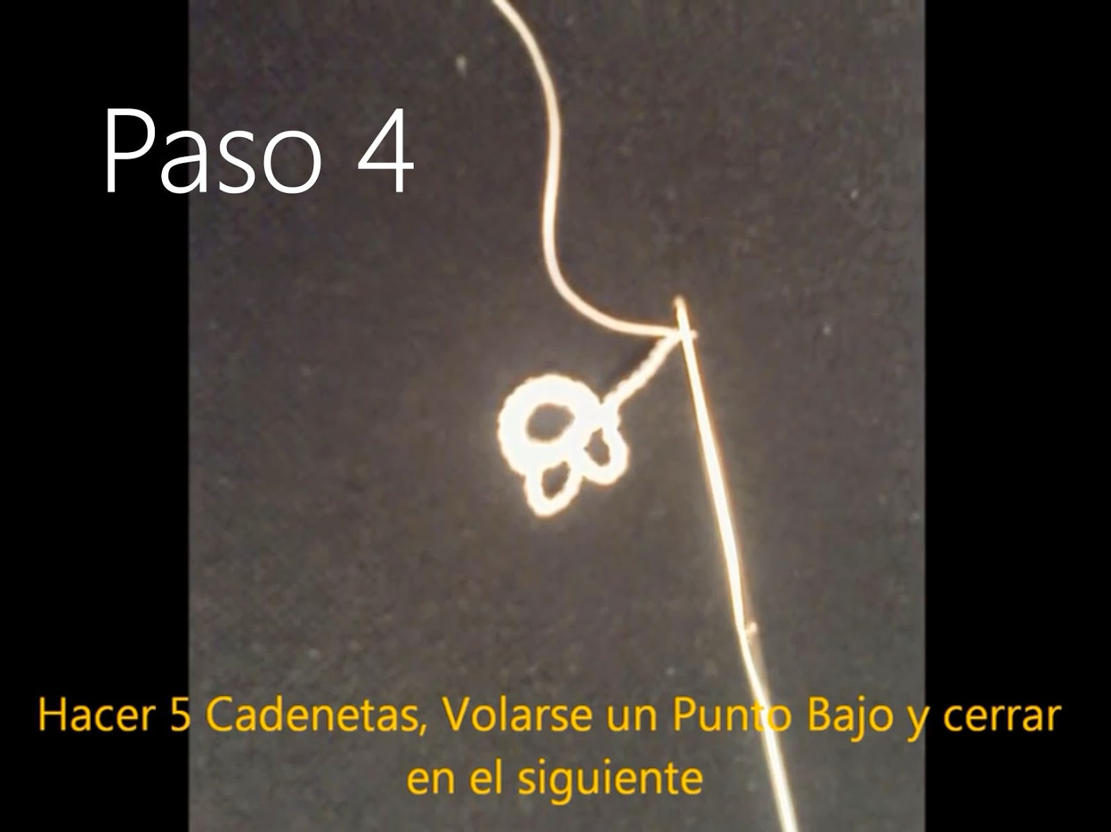 Tapete Flor Paso 4