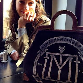 Custom Framed Alissa Valdenassi Menzingers Handbag