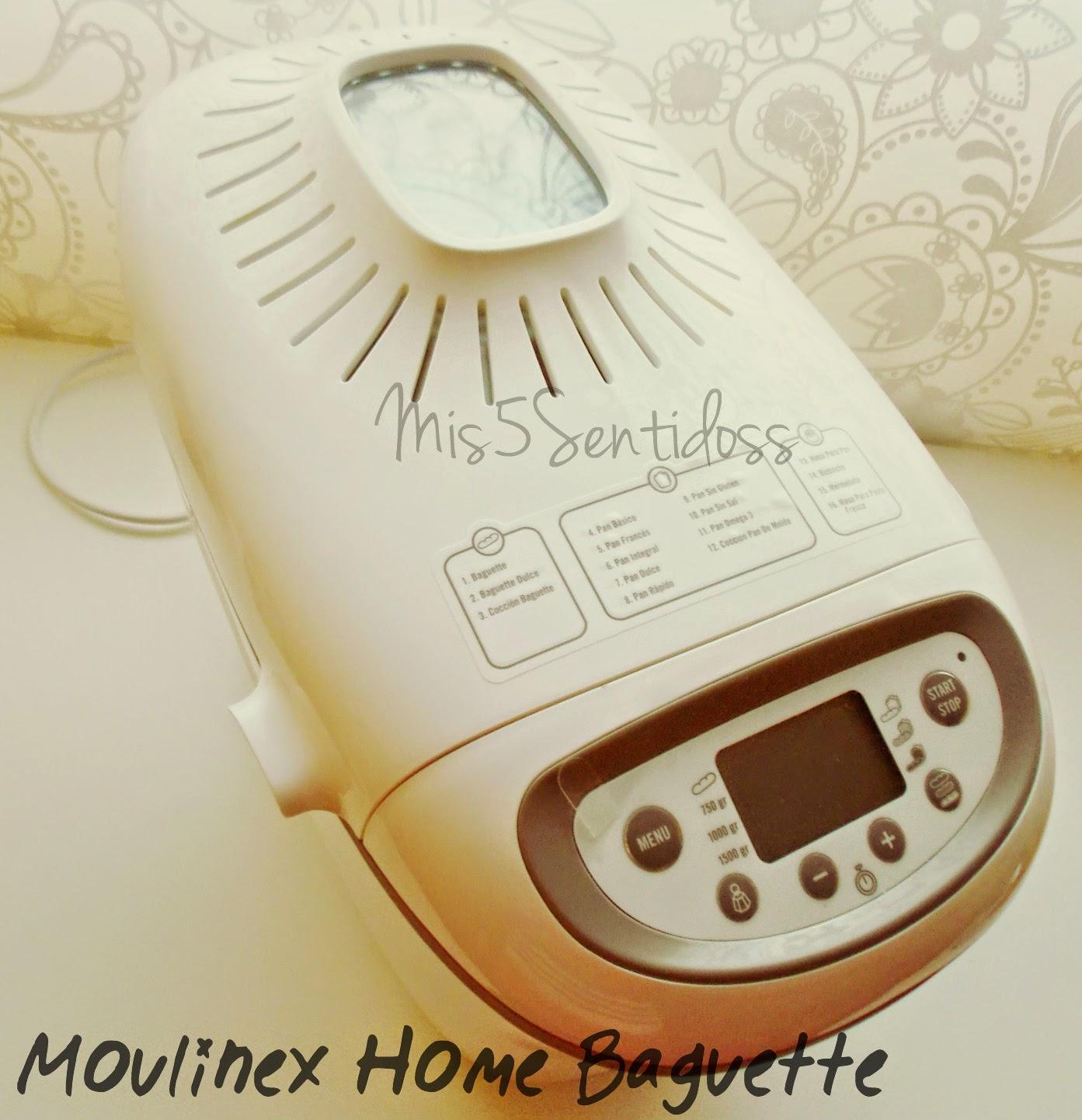 Panificadora Moulinex Home Baguette OW6101