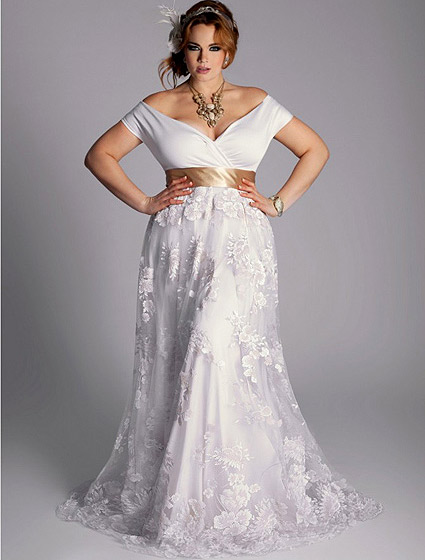 Wedding dresses for fat bride